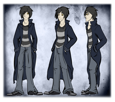 Jack Deneron Reference I by StarryEvening