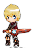 Xenoblade-Chibi Shulk by SilviShinystar
