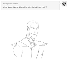 Slicked Back Hair-Overlord by jack-o-lantern12