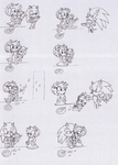 Sonamy and their son doodles by PetitMoon5