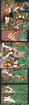 Shani and Toad Prince by LinART