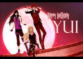HBD Yui! by Katkat-Tan
