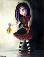 Little Gothic Lolita in the Dark by SweetlyDarkLullaby