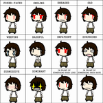 Expressions by HobbitTerraria15