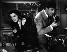 His Girl Friday 2 by HalloweenMAGE