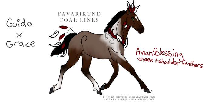 Favarikund foal 534 GIFT for paradoxsketchbook by DreamDrifter91