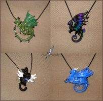 Fantasy necklaces set 3 by AlviaAlcedo
