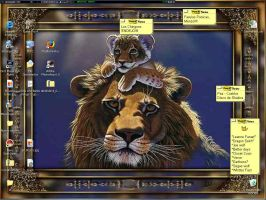 Lion Wallpaper by lomstat