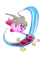 Kirby one student more at Shibusen by Frammur