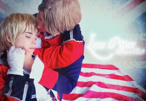 USUK Independence Cosplay by MyobiXHitachiin
