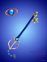 Mercury Power Keyblade by portadorX