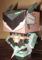Zone of Enders Cubeecraft by paperart