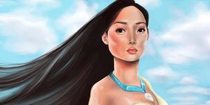 Pocahontas by ThePea