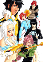 Group 1 by Hoshi-Suzume