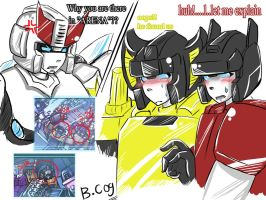 Megatron Origin: BUSTED : by BloodyChaser