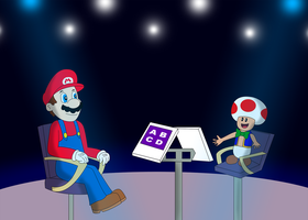 Mario the contestant by ZeFrenchM
