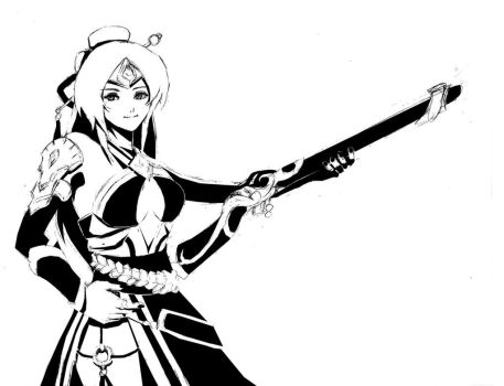 [CONTEST] Lian from Paladins by p3dg33