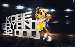 Kobe Bryant 32000 Wallpaper by NO-LooK-PaSS