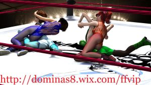 tag team high school mixed wrestling by q1911