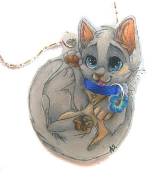 Kattja necklace by PixelRaccoon