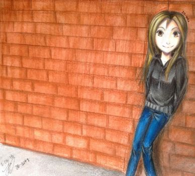 Brick Wall by JO-arts
