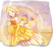 Rin Kagamine #2 by DonaGreyback