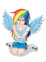 Ra-Rainbow Dash? by Senaris