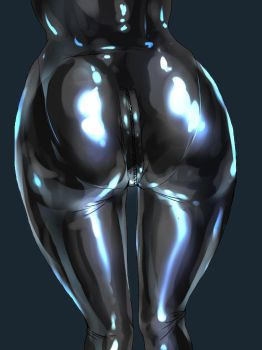 Latex butt by Tiasti