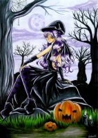 mauve shadow halloween by Mana-Kyusai