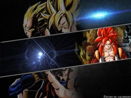 Wallpaper Gogeta || TheGraphicsArts - Il Gambero by TheGraphicsArts