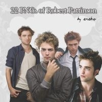 PNGs of Robert Pattinson by KrisPS