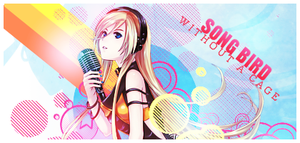 Vocaloid Vector Signature :: Lily by Holophrasic