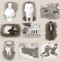 Murder Sketches by Sughly