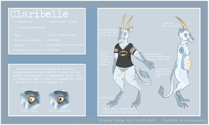 Claribelle Reference by ClaribeIle
