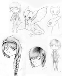 Some Httyd sketches by Alexis25