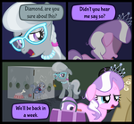 Diamond and Dazzle: Split by MagerBlutooth