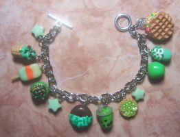 more yummy and cutie bracelets, i love green :) by jong28