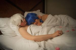 DMMD Valentine's- Sleepy Time by Rurounichan