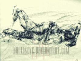 life drawing 12 by Ballistyc