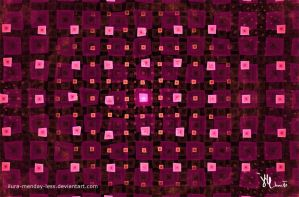 pink squares by ilura-menday-less