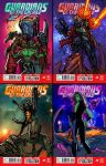 Guardians of the Galaxy Thumbnail sketches by JoeyVazquez
