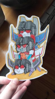 TF: Seekers bookmark by DragonRider02