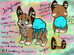 Species Sheet(jellyfennec) by P0CKYY