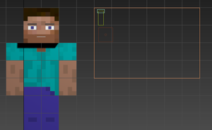 Working on my new Steve rig by CactusKnight