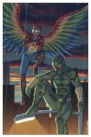 Macaw and Crick by Ross-A-Campbell