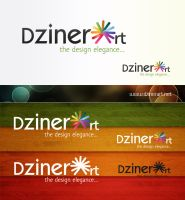 dzinerart logo final by webdziner