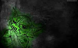 Yoda Grunge Wallpaper by noodle98