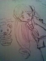 Cookie and Hunny the Bear by BebeKimichi