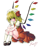 lonely Flandre Scarlet is lonely by Subiculum