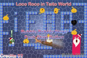 LocoRoco in Taito World V.2 by iFab